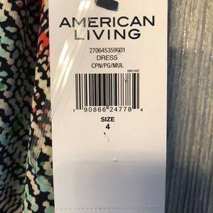 Women Amercan Living Long Dress